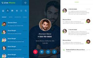 UI for Calling App
