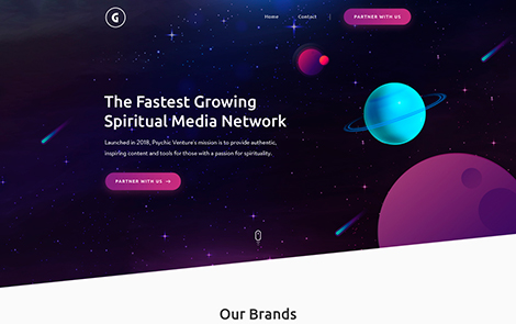 Grato Agency 2 HTML Template
